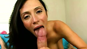 Latina Pov, Beauty, Big Cock, Blowjob, German, High Definition