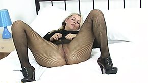 Vibrator, Blonde, High Definition, Masturbation, Mature, MILF