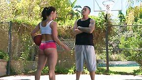 Sport, Big Tits, Blowjob, Brunette, MILF, Outdoor