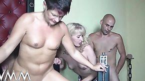German Swinger, Amateur, Blowjob, Club, Couple, Cumshot