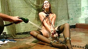 Kara Price, BDSM, Bound, Brunette, Extreme, Hogtied