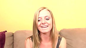 Video, Blonde, Blowjob, POV, Teen