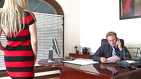 Office, Blonde, Boobs, College, Facial, Hardcore