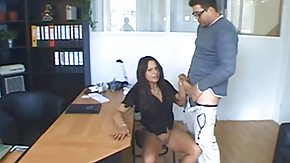Boss, Blowbang, Blowjob, Boobs, Boss, Brunette