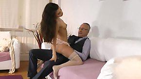 Stockings, Blowjob, Brunette, European, High Definition, Leggings