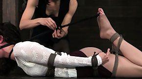 Lezdom, BDSM, Brunette, Choking, Dominatrix, Femdom