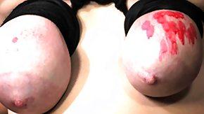 Wax, BDSM, Big Tits, Boobs, Bound, Brunette