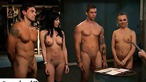Prison, Big Tits, Blonde, Blowjob, Boobs, Brunette