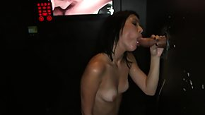 Ava, Blowjob, Brunette, Cash, Gloryhole, Hardcore