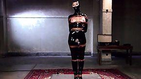 Mask, BDSM, Big Tits, Bondage, Brunette, Latex