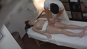 Oil Massage, Amateur, Babe, Brunette, Fucking, High Definition