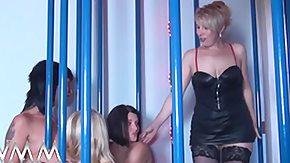 Lesbian Mature, Amateur, Blonde, Brunette, Cage, German