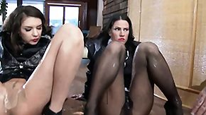 Classy, 3some, Brunette, CFNM, Classy, Clothed