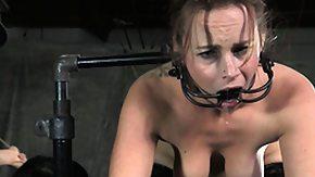 Whipping, BDSM, Big Tits, Boobs, Bound, Brunette