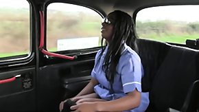 Taxi, Big Tits, Black, Black Big Tits, Blowjob, Boobs