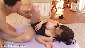 Japanese, Asian, Beauty, Bed, Brunette, Cowgirl