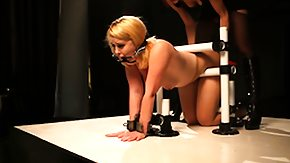 Spanking, BDSM, Blonde, Dominatrix, Femdom, High Definition