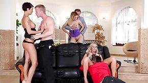 Swingers, Blonde, Blowjob, Brunette, French Orgy, French Swingers