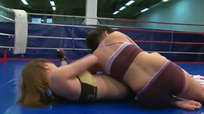 Wrestling, Babe, Ball Kicking, Ball Licking, Ballbusting, Banging