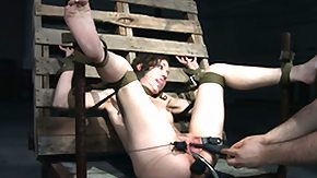 Free Domino HD porn videos Submissives pussy toyed by male domino
