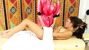 Asian Massage, Asian, Asian Lesbian, Babe, Blonde, High Definition