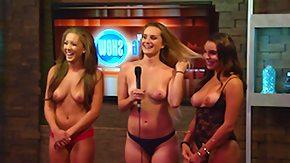 Playboy, Blonde, Brunette, Topless
