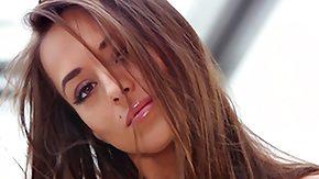 Dominika, Babe, Beauty, Brunette, Cute, Model