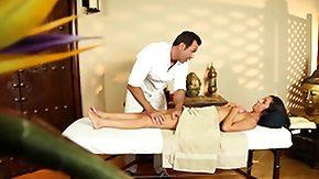 Delilah Davis, Babe, Brunette, Close Up, High Definition, Massage
