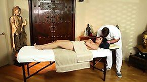 Interracial, Brunette, High Definition, Interracial, Massage, Masseuse
