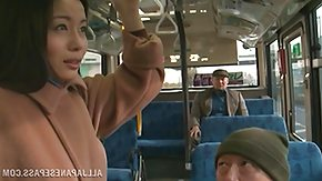Asian, Asian, Babe, Brunette, Bus, Fingering