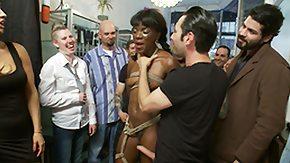 Public Disgrace HD porn tube ebony babe disgraced in public