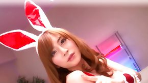 Cosplay, Babe, Blowjob, Bunny, Costume, Japanese