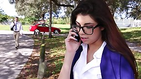 Horny, Brunette, Coed, College, Glasses, Horny