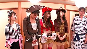 Free Pirates HD porn videos a sexy pirate party