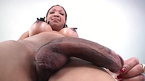 Ebony, Big Tits, Ebony, Ladyboy, Shemale, Solo