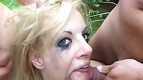 Strokahontas, 3some, Blonde, Blowjob, Group, Jizz