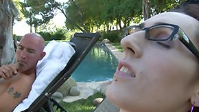 Transsexual, Blowjob, Glasses, Handjob, Ladyboy, Outdoor