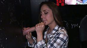 Remy Lacroix, Blowjob, Brunette, Gloryhole, Handjob, Hardcore