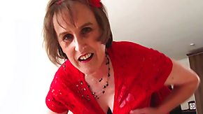 Cleavage, European, Mature, Old, Old Lady, Old Woman