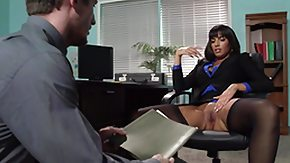 Office, Big Tits, Blowjob, Brunette, Fucking, Office