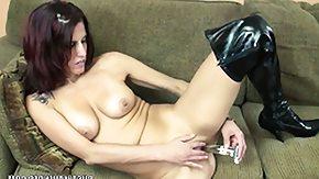 Lavender Rayne, Brunette, High Definition, Horny, Masturbation, Mature