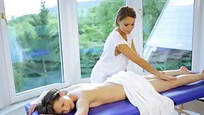 Lesbian Massage, Brunette, High Definition, Lesbian, Lesbian Teen, Massage