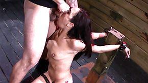BDSM, BDSM, Blowjob, Brunette, Facial, Fetish