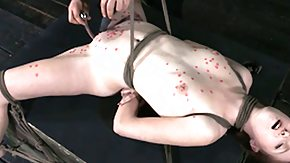 Wax, BDSM, Boobs, Brunette, Fetish, Flat Chested