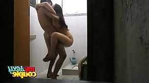 Towel, Amateur, Babe, Couple, Indian, Kissing