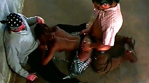 Vintage Interracial, 3some, Antique, Bitch, Black, Black Orgy