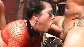 Mature, 3some, Bend Over, Big Cock, Big Tits, Blowjob