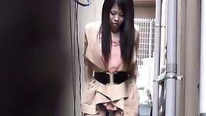 Alley, Asian, Fetish, High Definition, Outdoor, Peeing