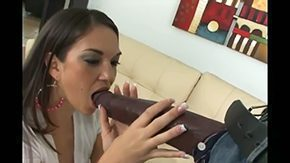 HD Beti Hana Sex Tube Dark-complexioned bottom has GIANT Pecker This chick is smaller than his manhood That babe try to swallow his hot rod but it is impossible willy superlatively good time on