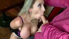 Sara Jay, Ball Licking, Banging, Bar, BBW, Bed